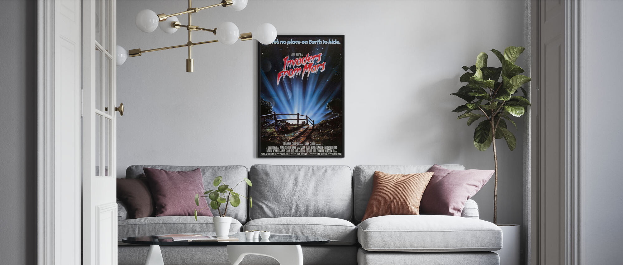 Invaders from Mars - Poster - Living Room