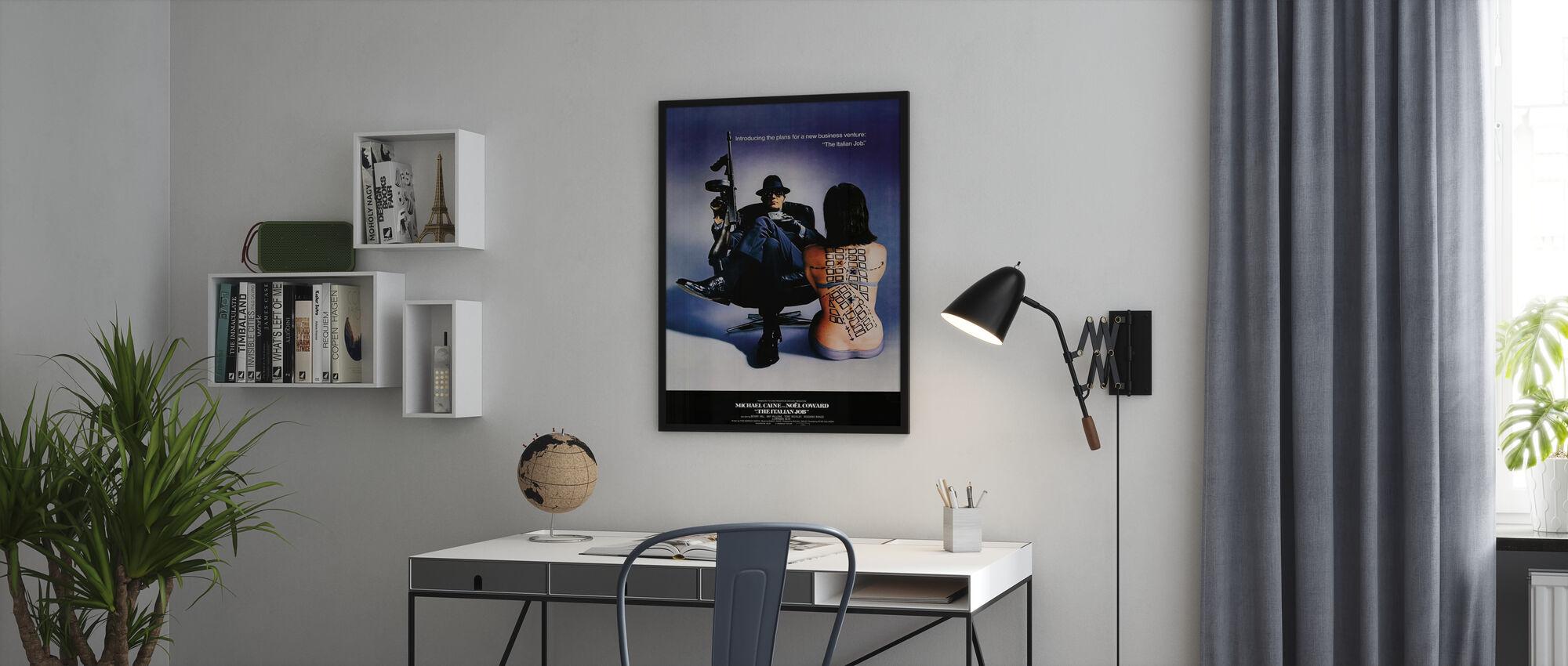 Italiaanse Job - Poster - Kantoor