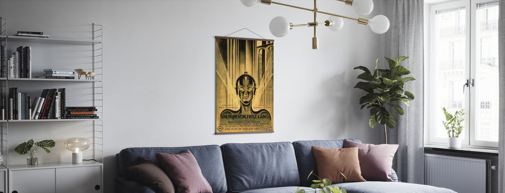 Metropolis - Poster - Living Room
