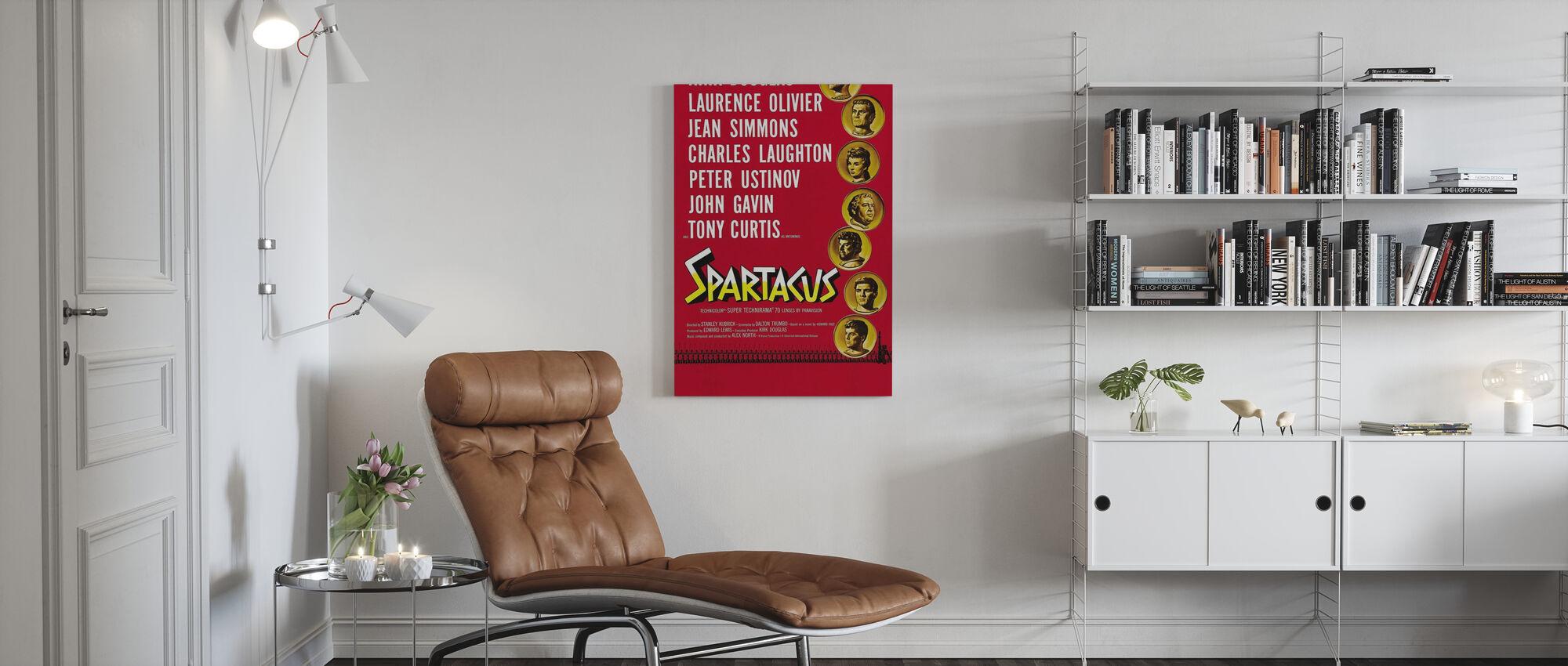 Spartacus - Canvas print - Living Room