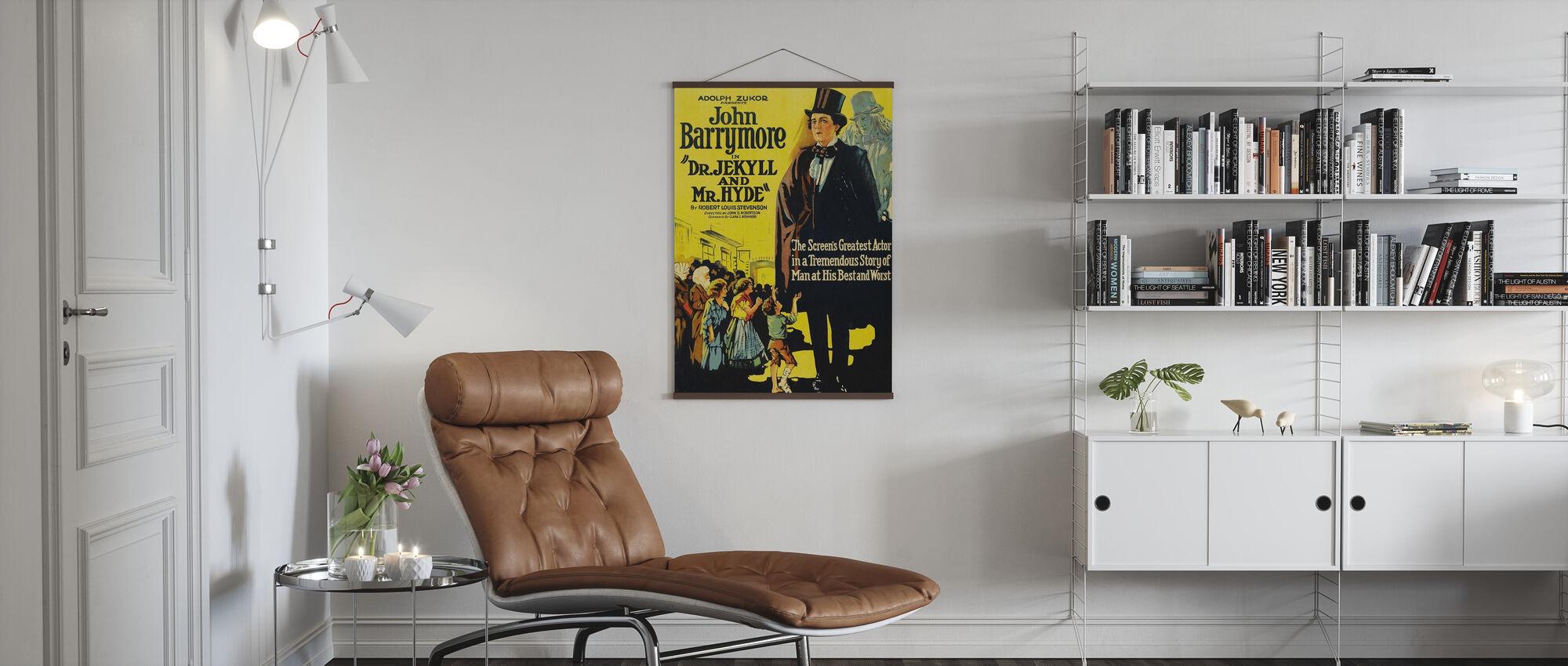 Dr. Jekyll und Herr Hyde - Poster - Wohnzimmer