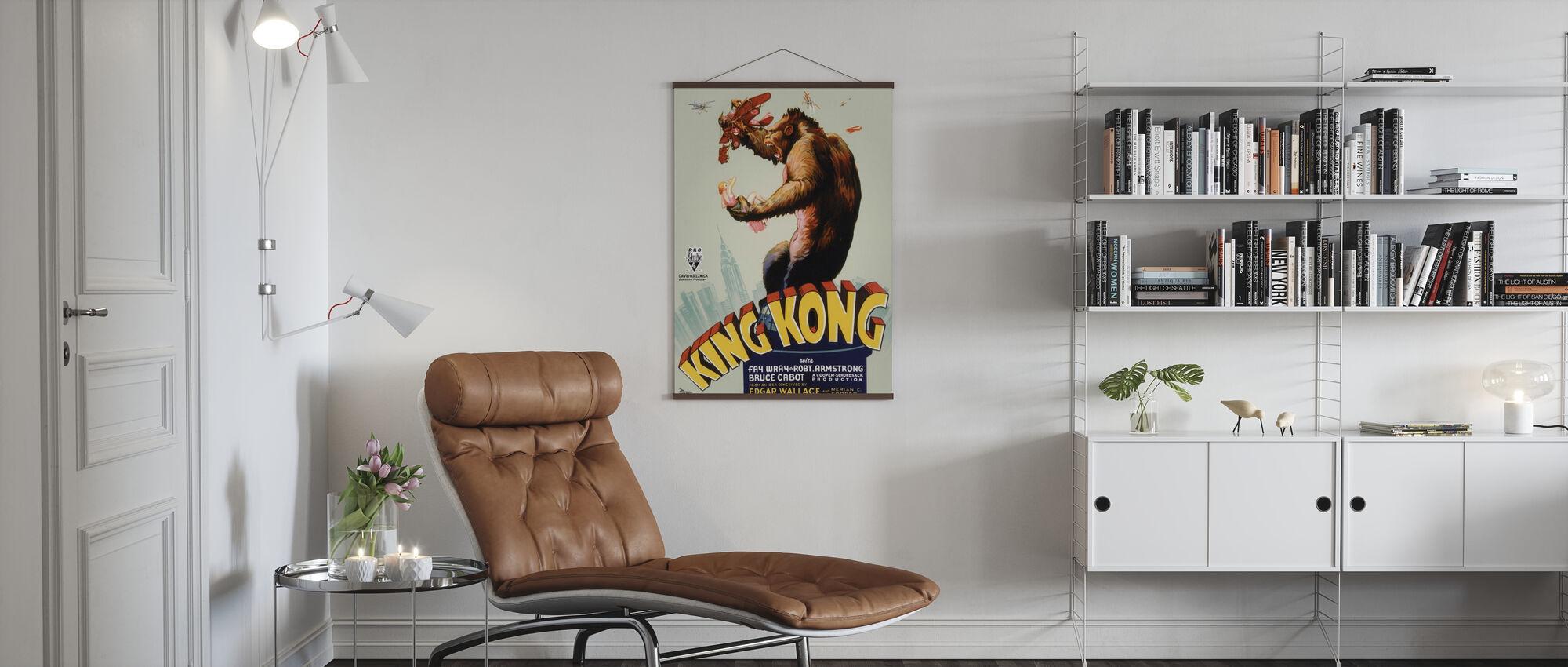 King Kong - Poster - Woonkamer