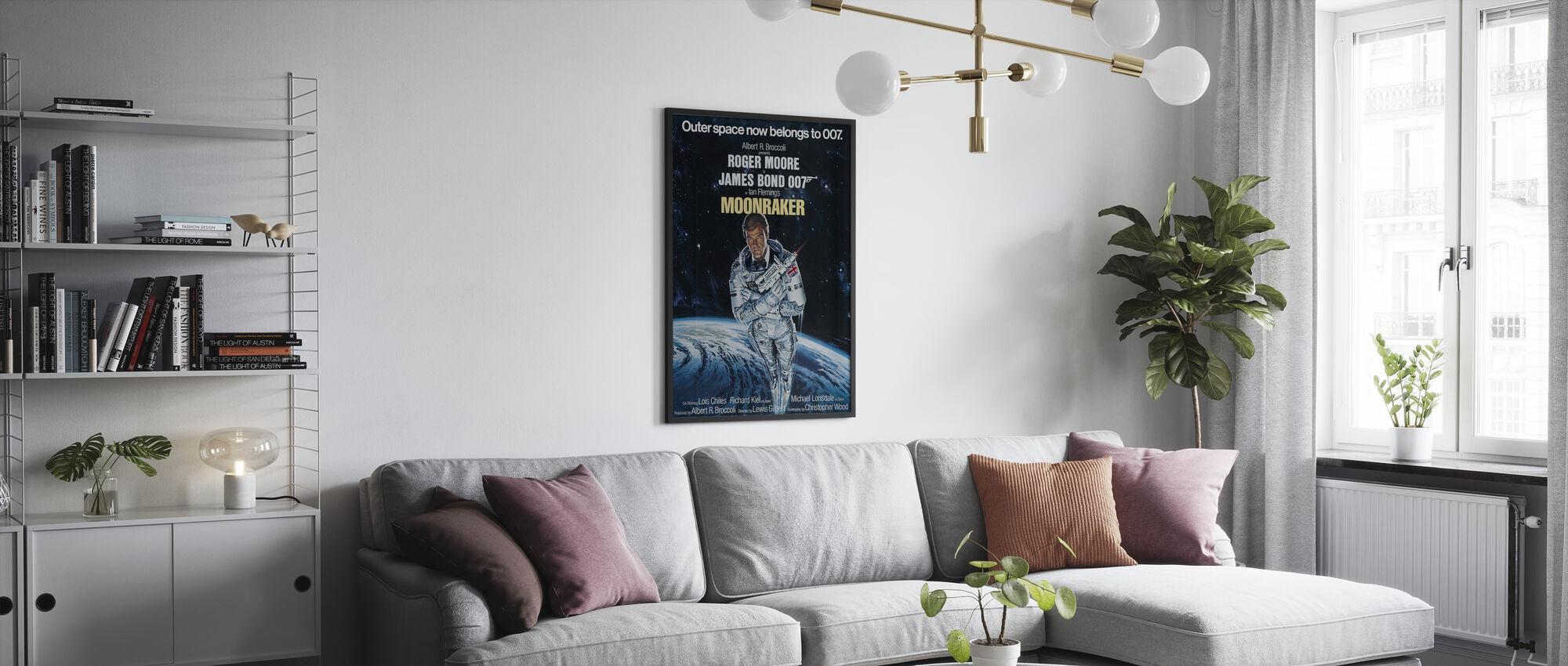 Moonraker - Poster - Living Room