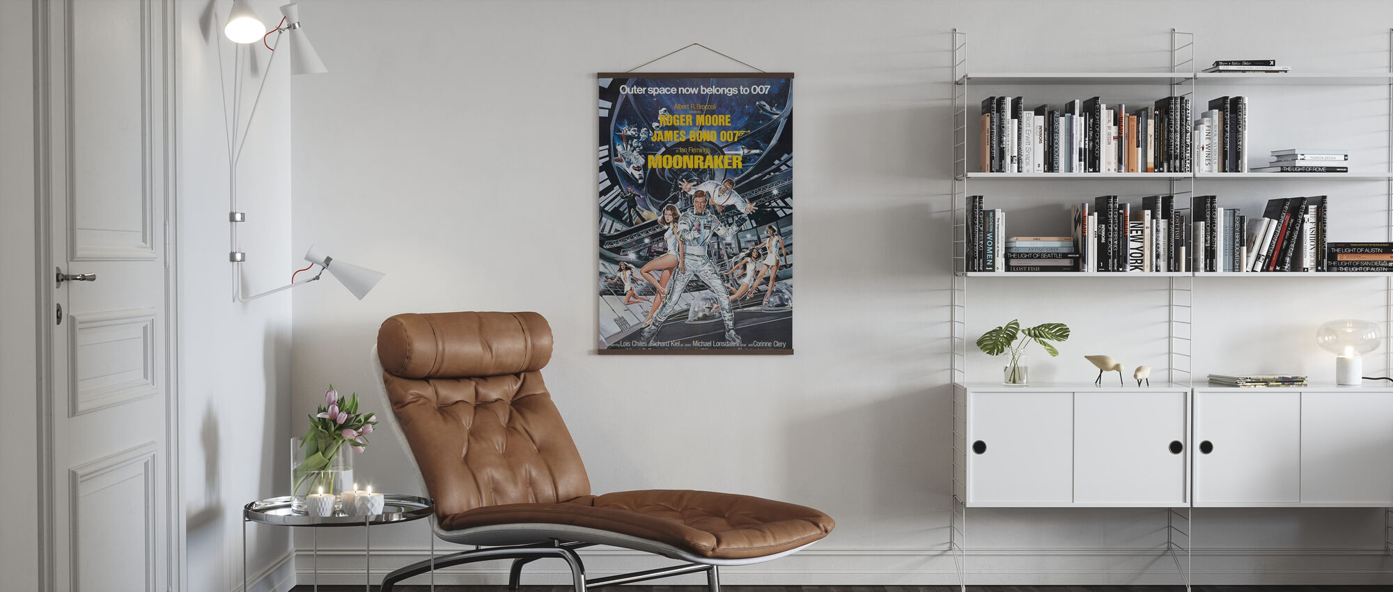James Bond Moonraker - Poster - Living Room