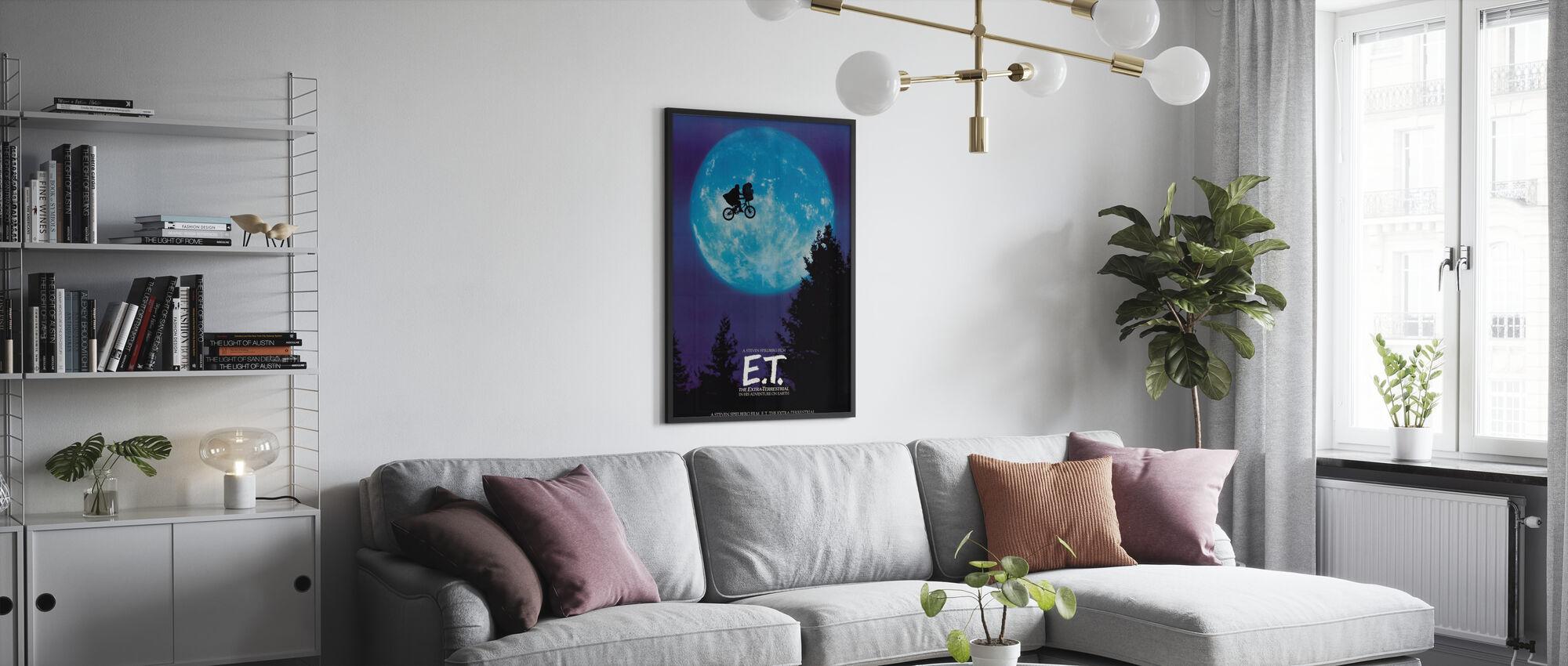 E T - Poster - Living Room