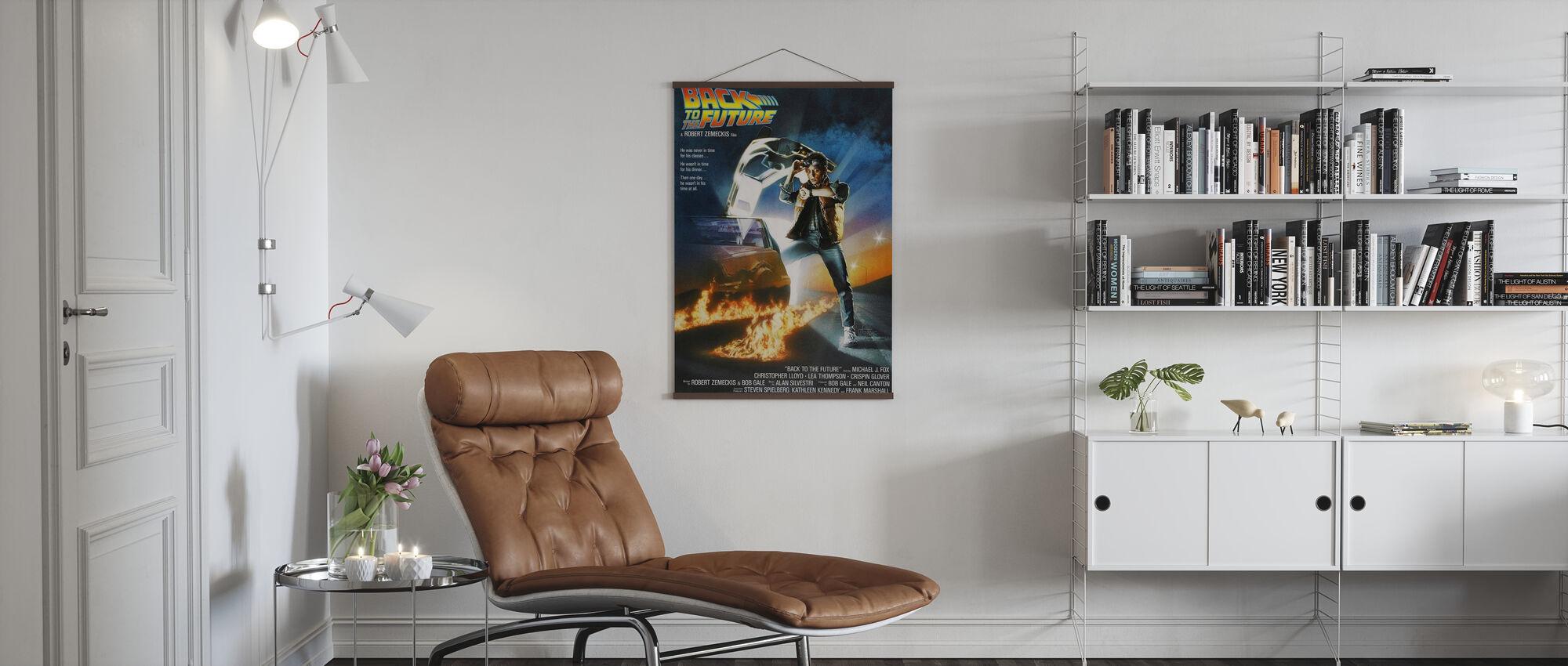 Terug naar de toekomst - Poster - Woonkamer