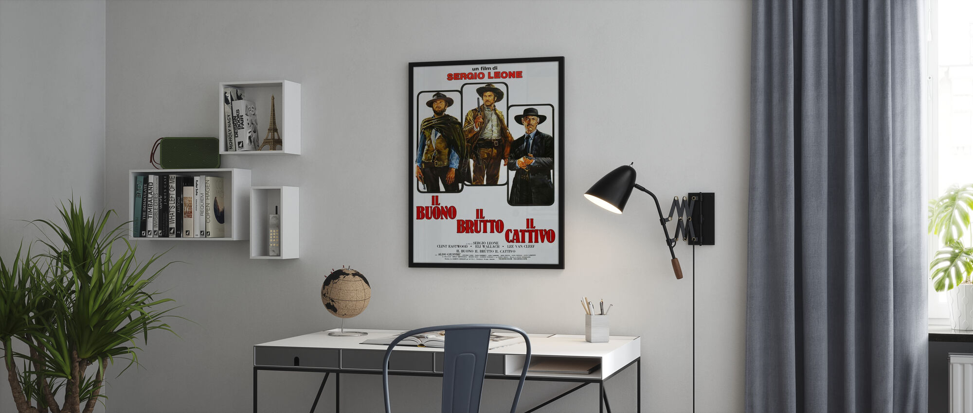Good the Bad and the Ugly - Framed print - Office