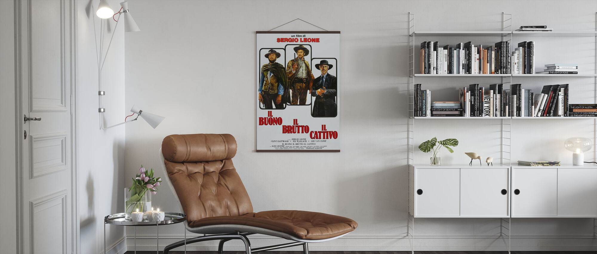Good the Bad and the Ugly - Poster - Living Room