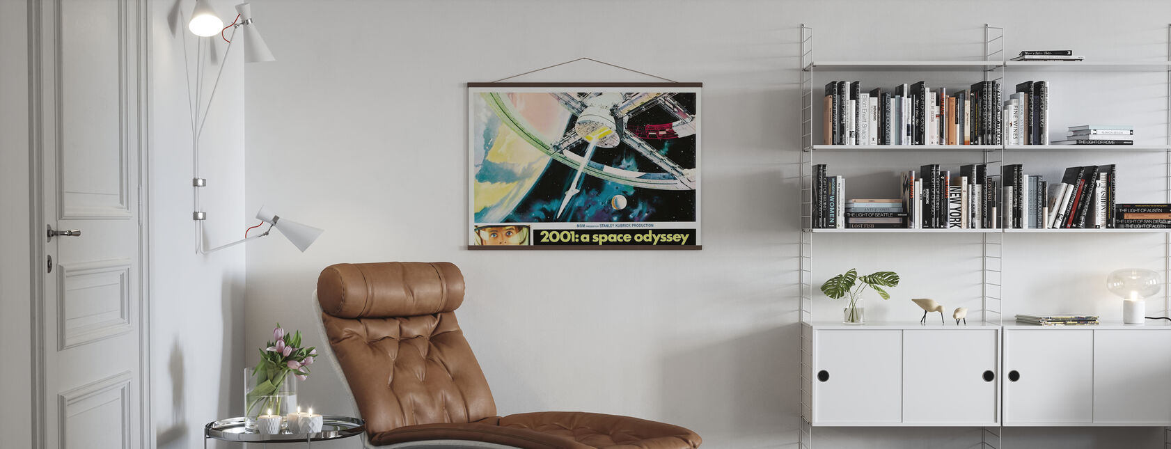 2001 A Space Odyssey - Poster - Living Room