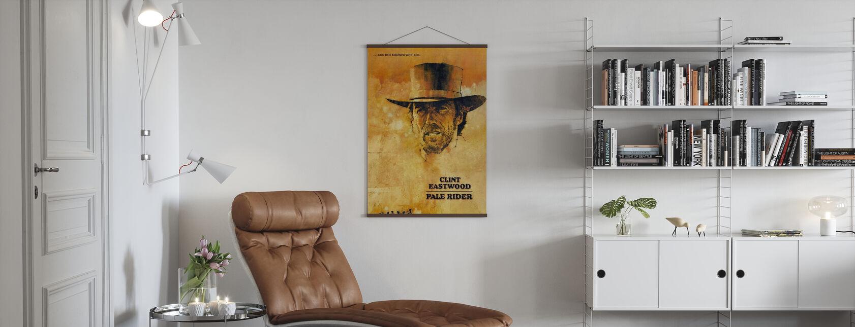Blek ryttare - Poster - Vardagsrum