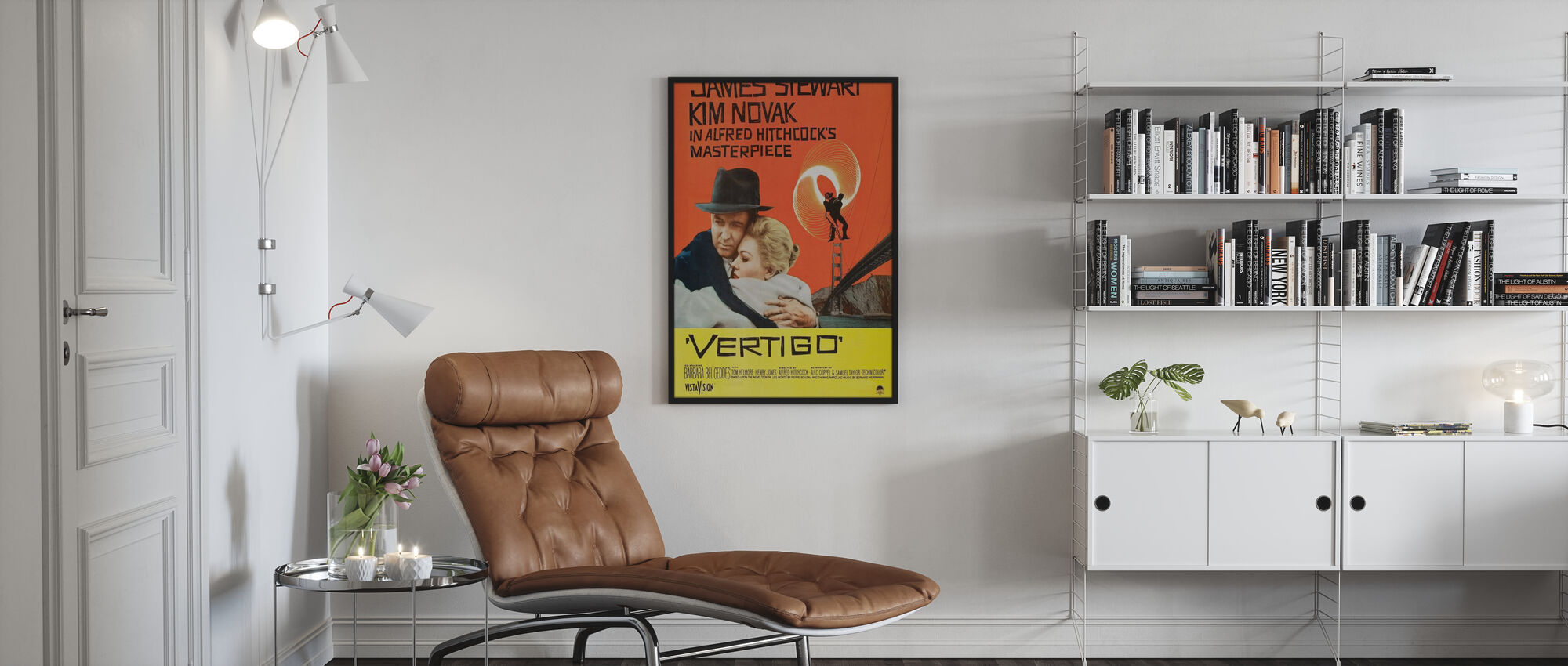 Vertigo - Inramad tavla - Vardagsrum