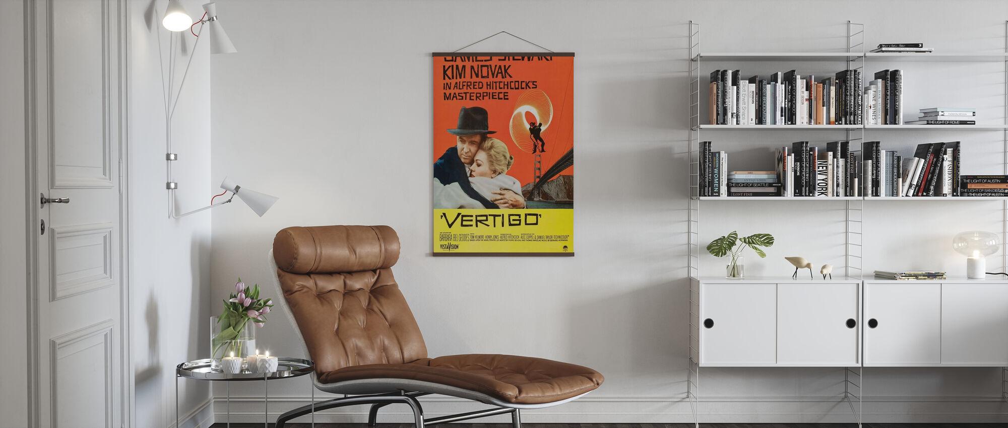 Vertigo - Poster - Living Room