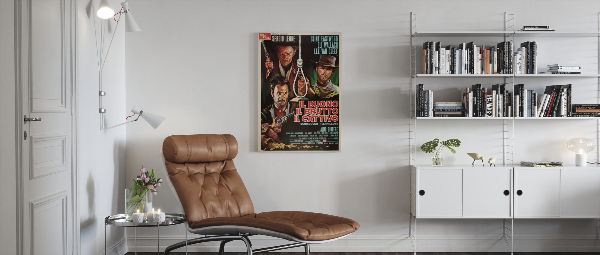 Good the Bad and the Ugly - Canvas print - Living Room