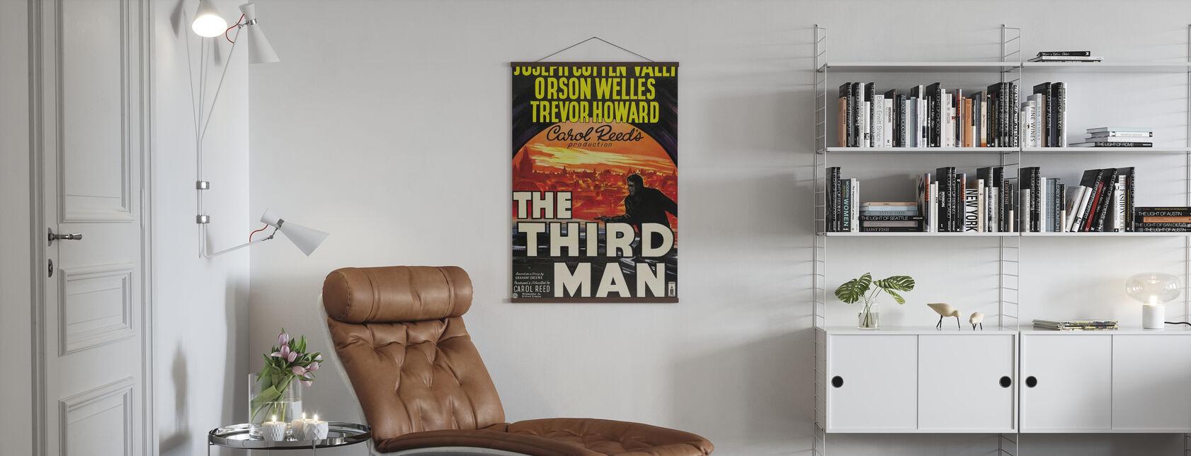 Dritter Mann - Poster - Wohnzimmer