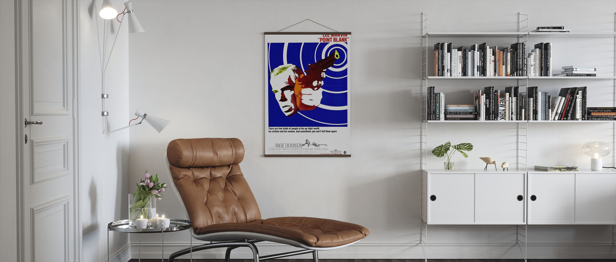 Point Blank - Poster - Living Room
