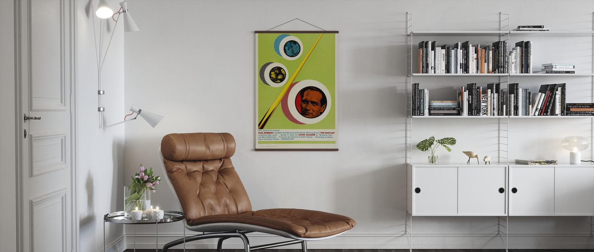 Hustler - Poster - Woonkamer