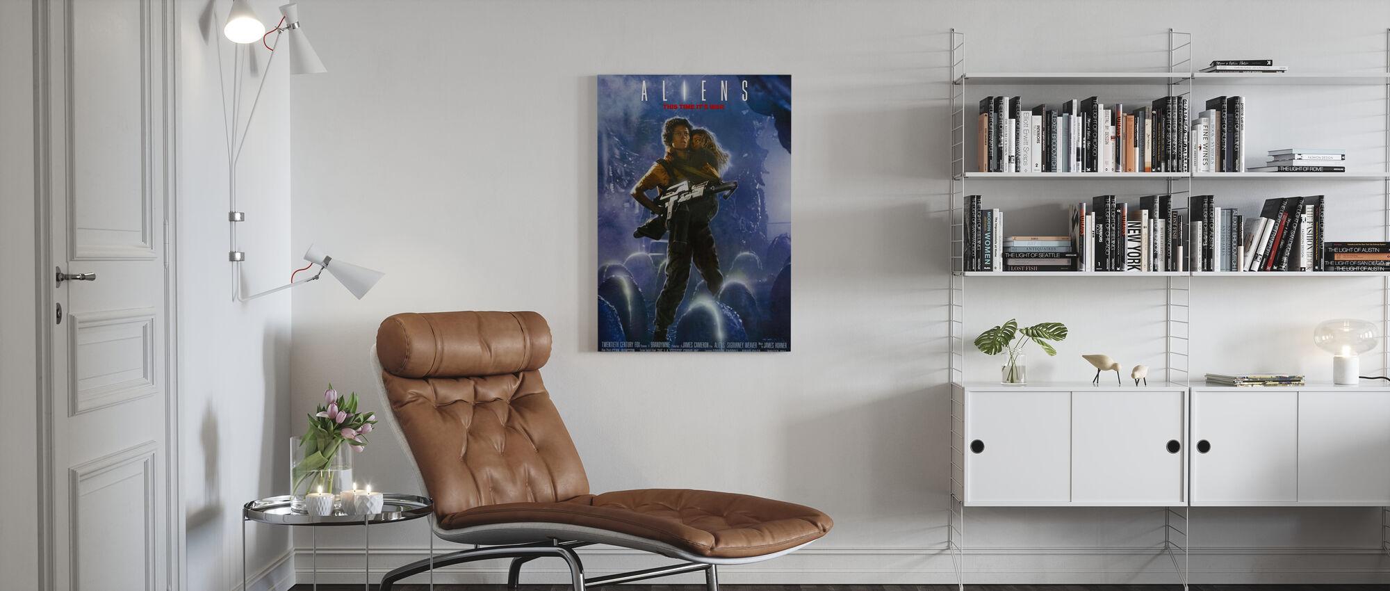 Aliens - Canvas print - Living Room