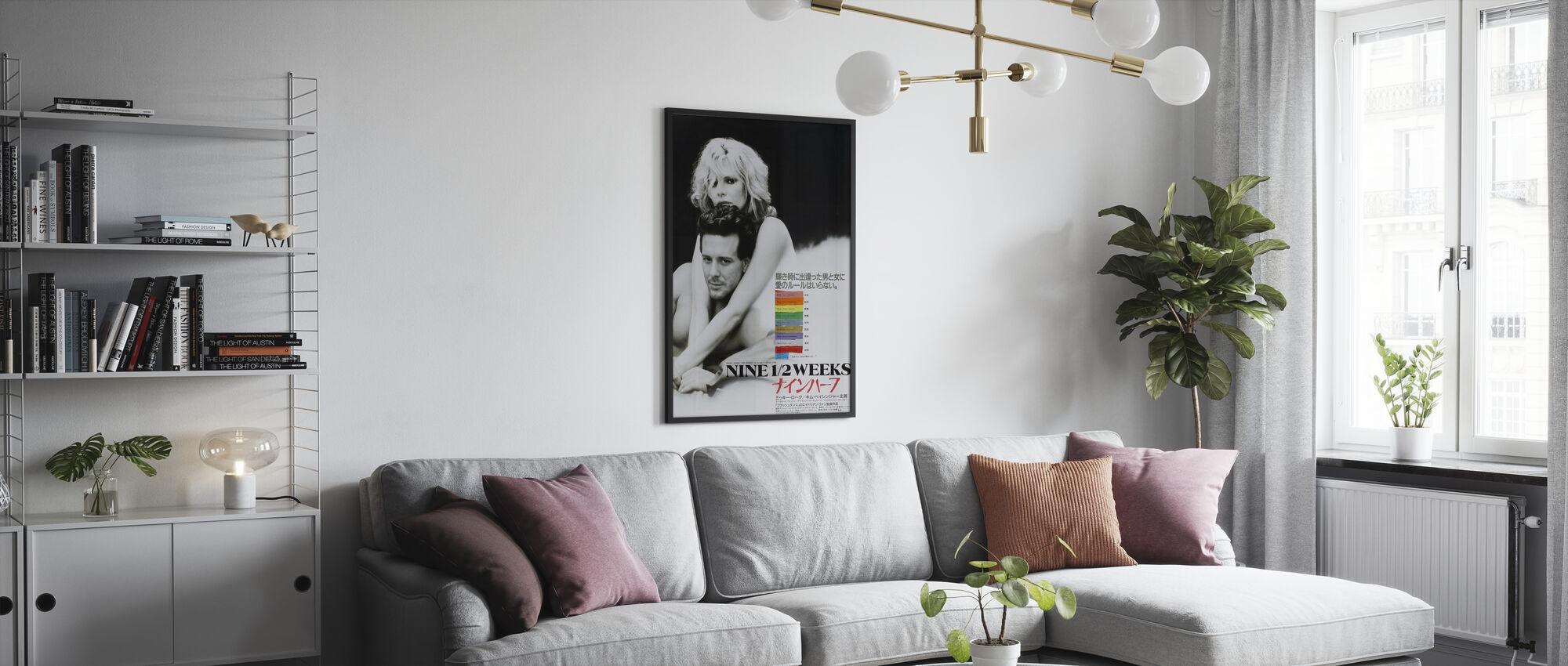 Nine 12 Weeks - Poster - Living Room