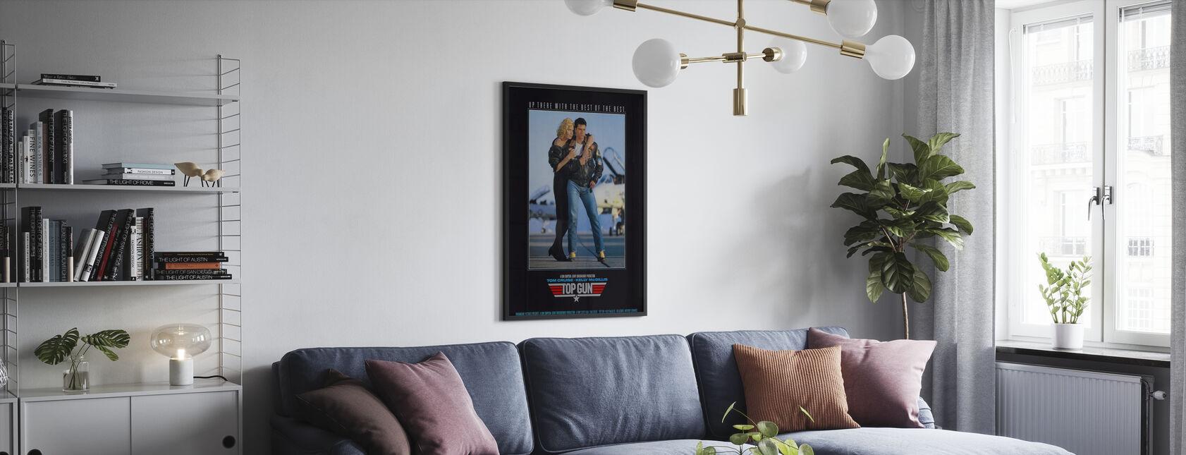 Top Gun - Poster - Living Room