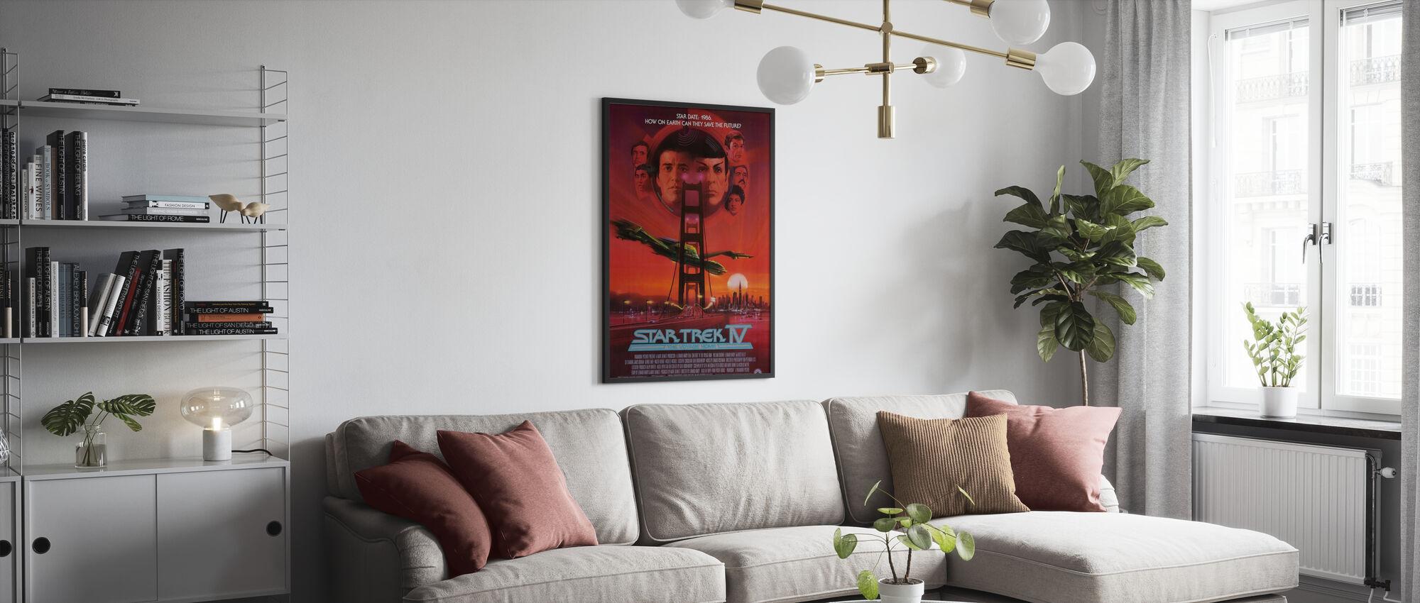 Star Trek IV de reis naar huis - Poster - Woonkamer