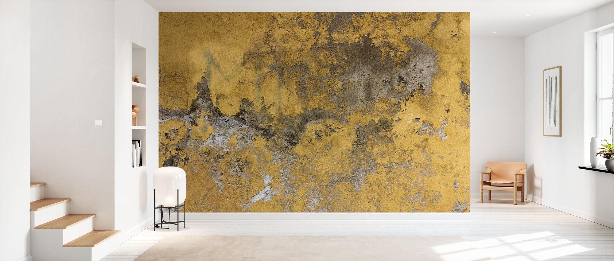 Plastered Surface - Wallpaper - Hallway