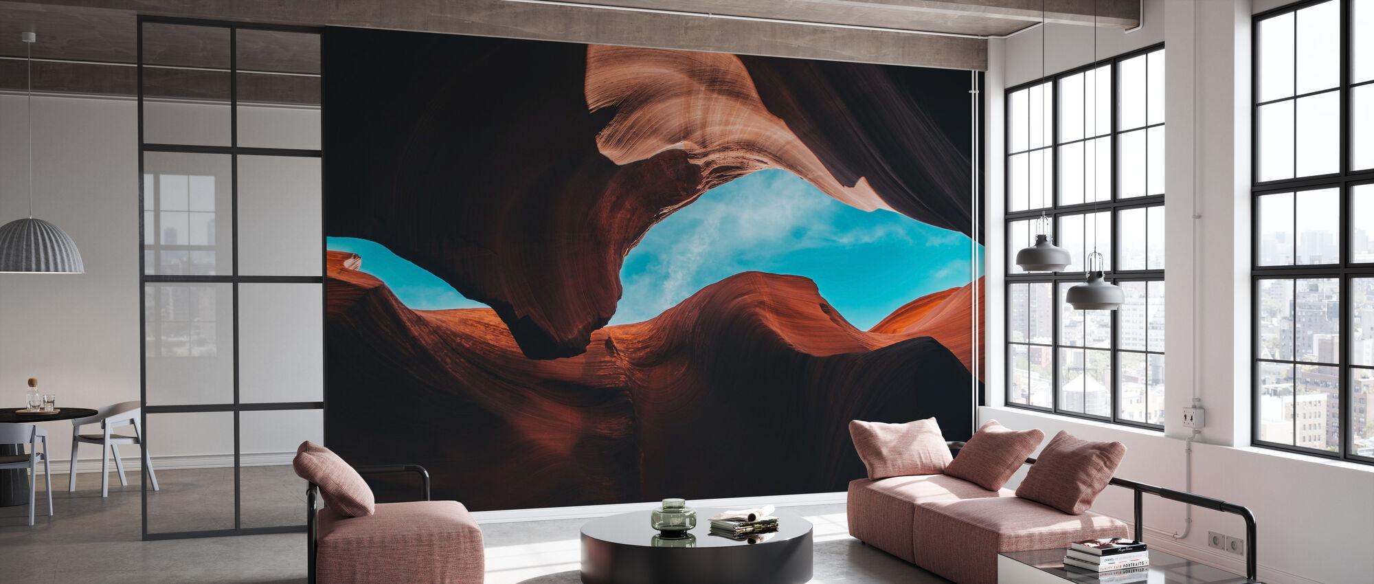 Canyon de l'Antelope - Papier peint - Bureau