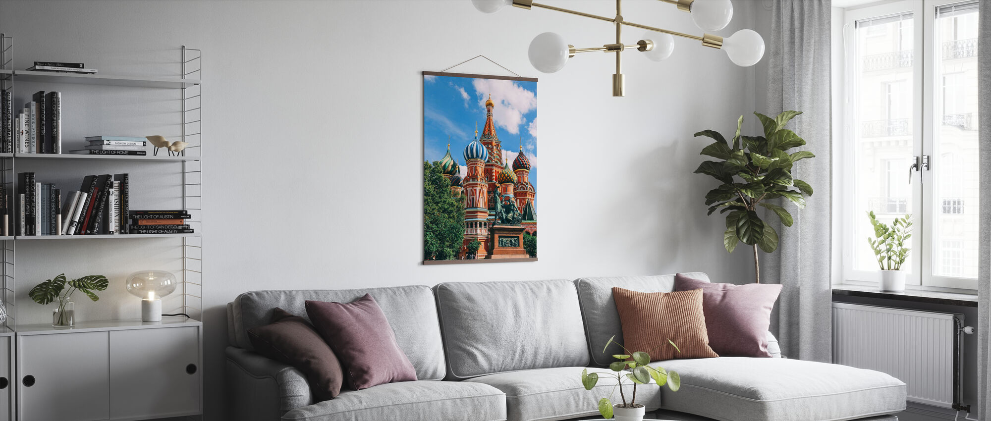 Majestic Cathedral II - Poster - Living Room