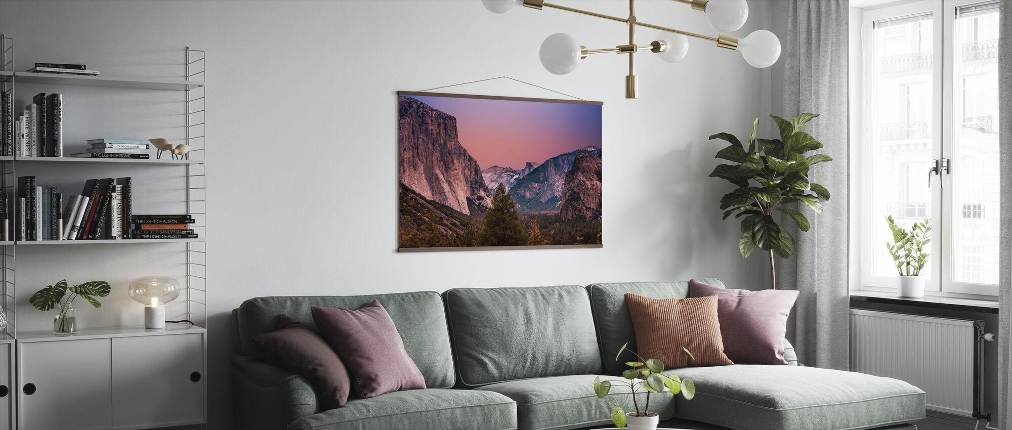 Mountain Range - Poster - Living Room