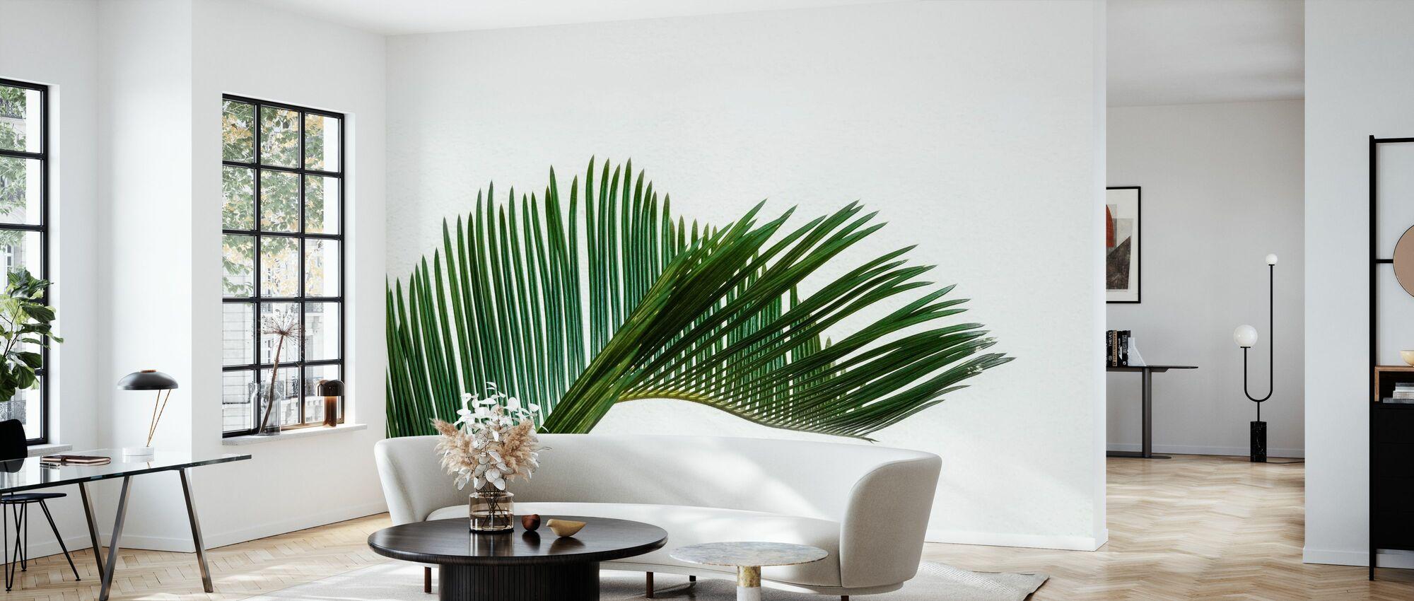 Palm Foliage - Wallpaper - Living Room