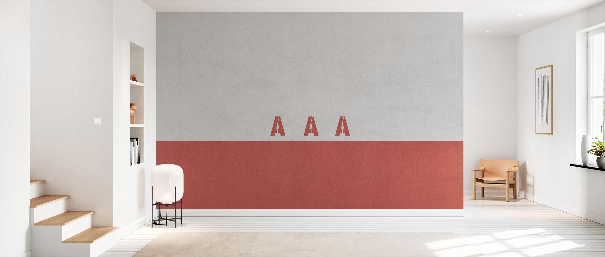 AAA Wall - Wallpaper - Hallway