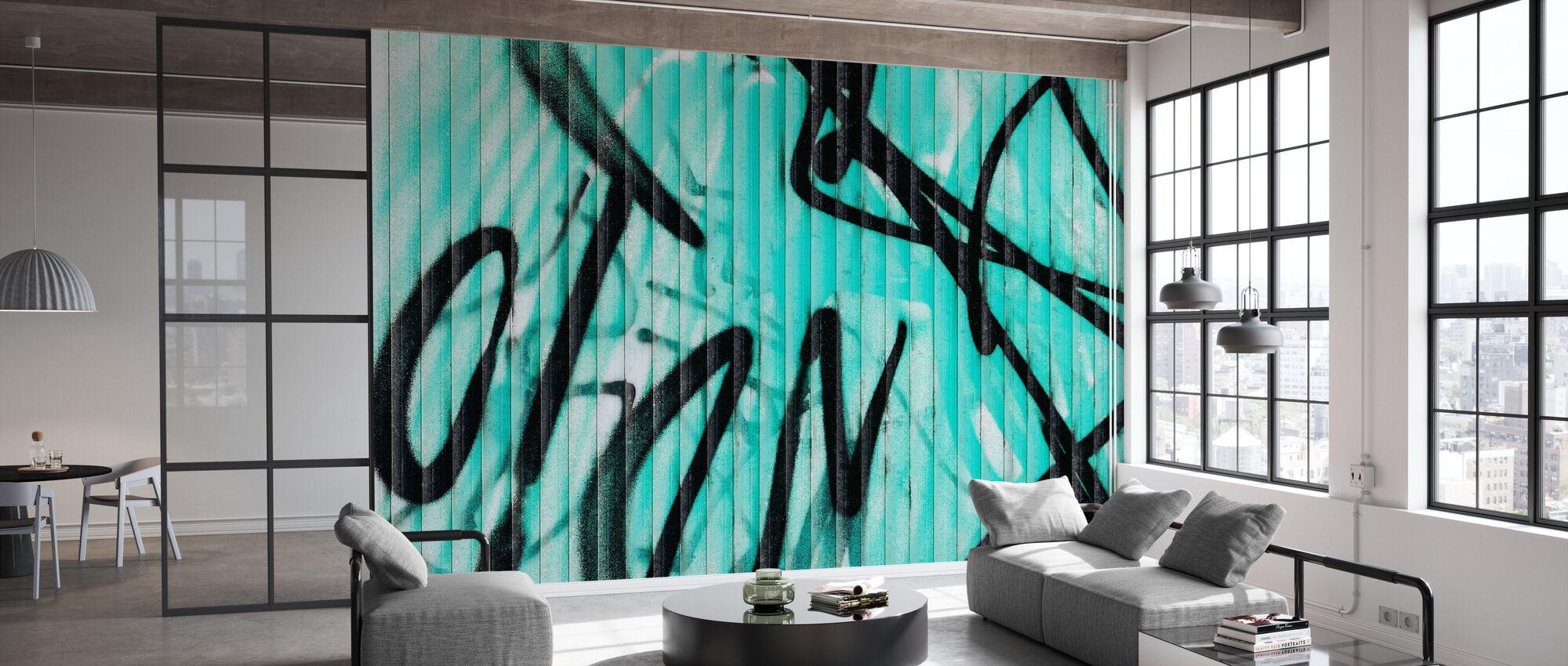 Graffiti Décoration murale - Papier peint - Bureau