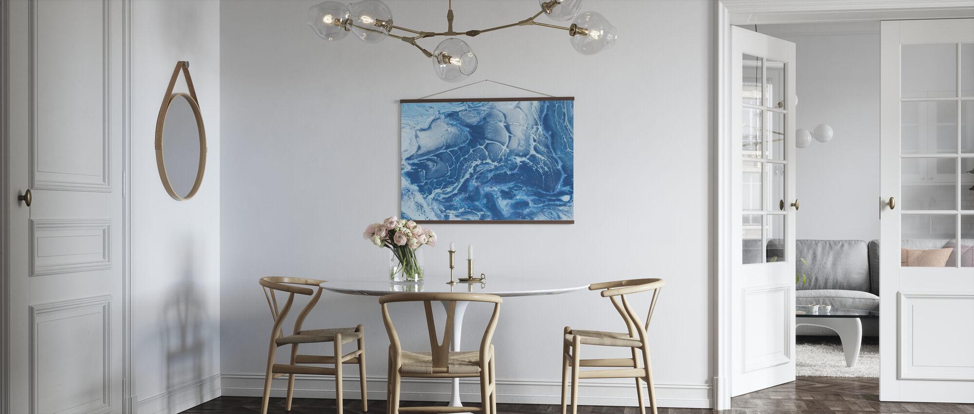Artic Ocean Texture - Poster - Kitchen