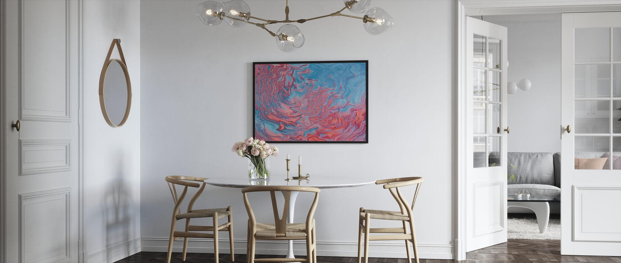 Abstract Schilderij - Poster - Keuken