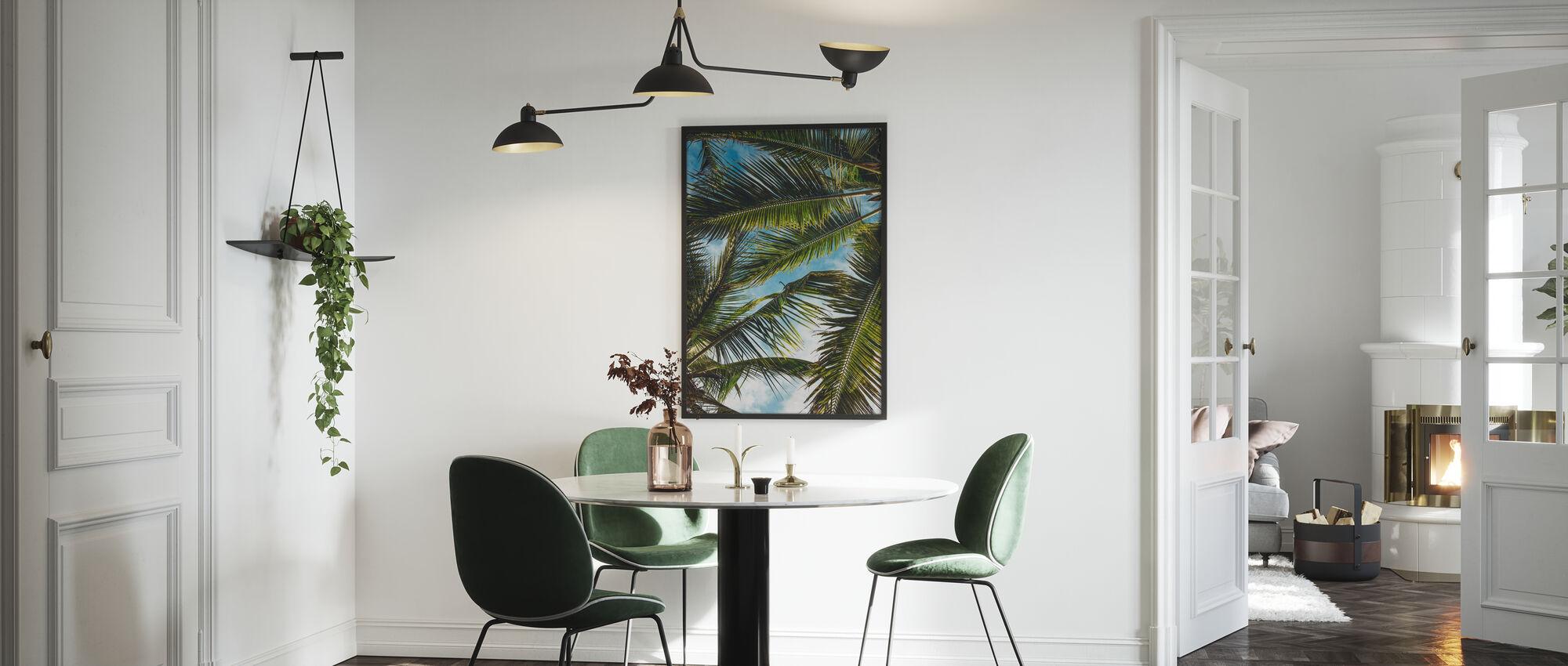 Palmen - Poster - Küchen
