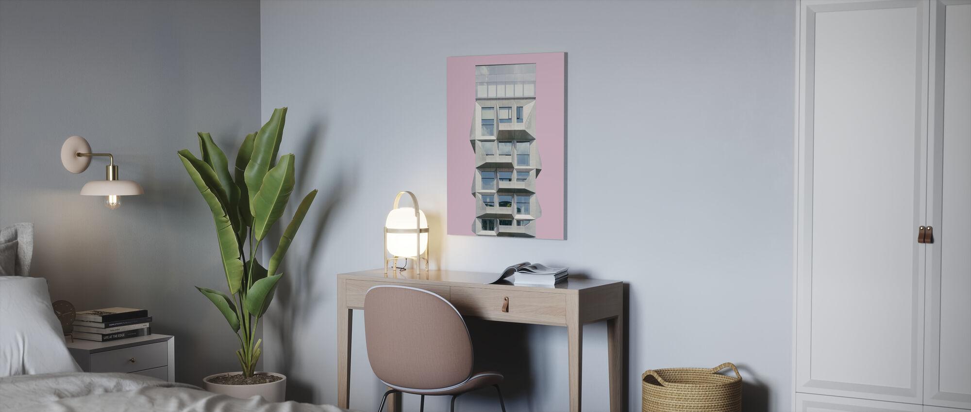 Silo i København - Lerretsbilde - Kontor