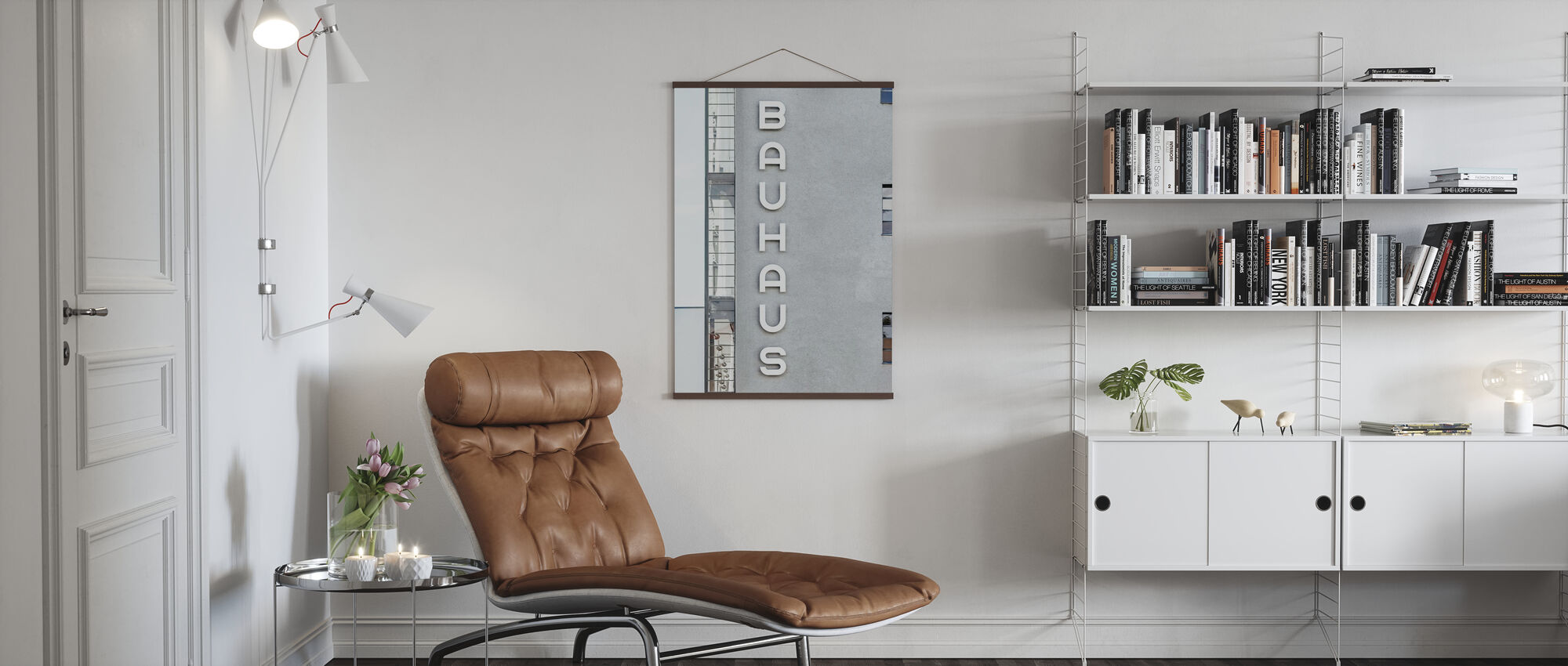 Bauhaus-Bauart - Poster - Wohnzimmer