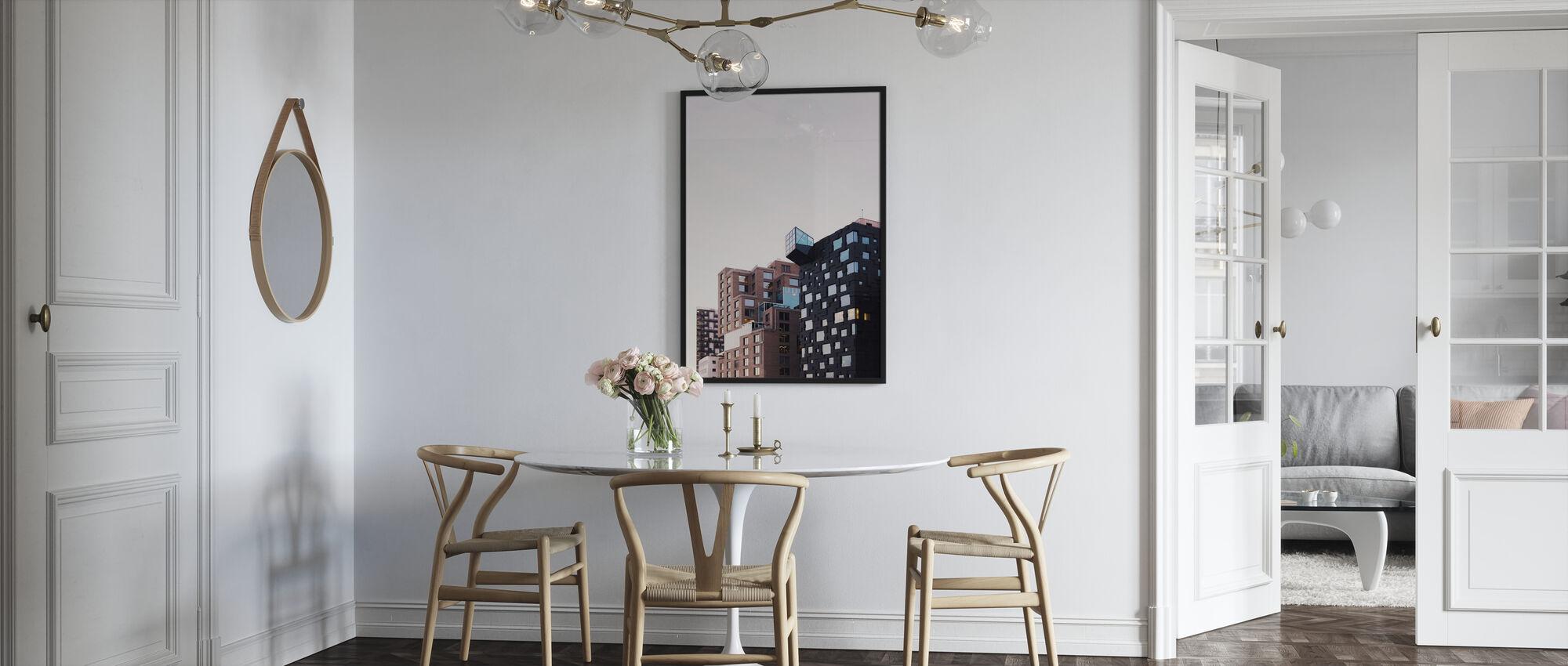 Apartment Blocks - Poster - Kitchen