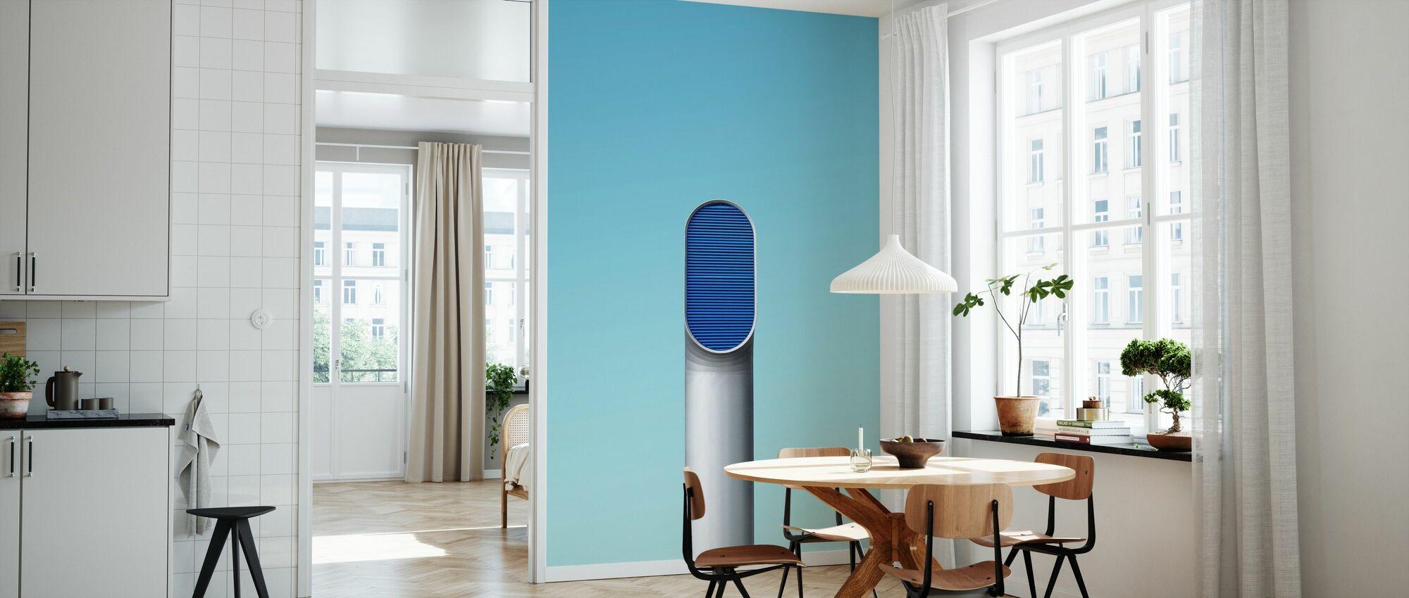 Single Pipe - Wallpaper - Kitchen