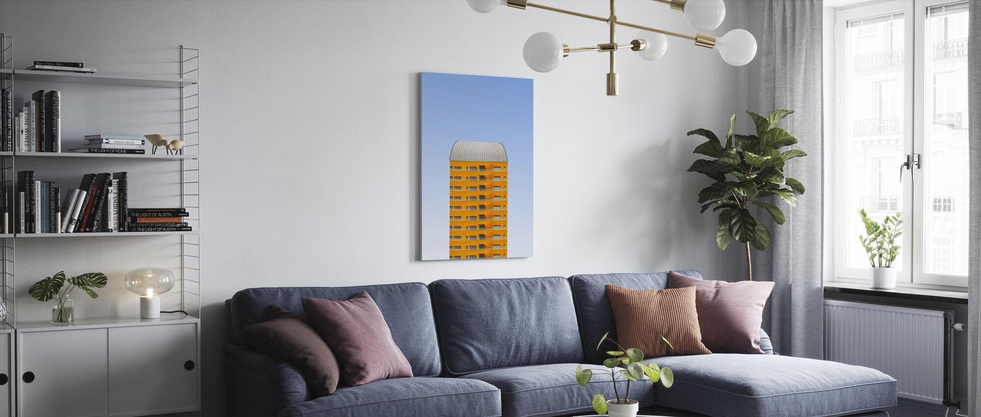 Rotterdam Hochhaus - Leinwandbild - Wohnzimmer