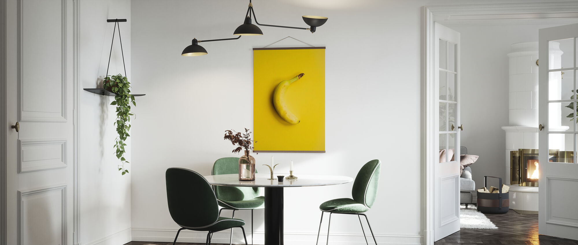 Yellow Banana - Poster - Kitchen