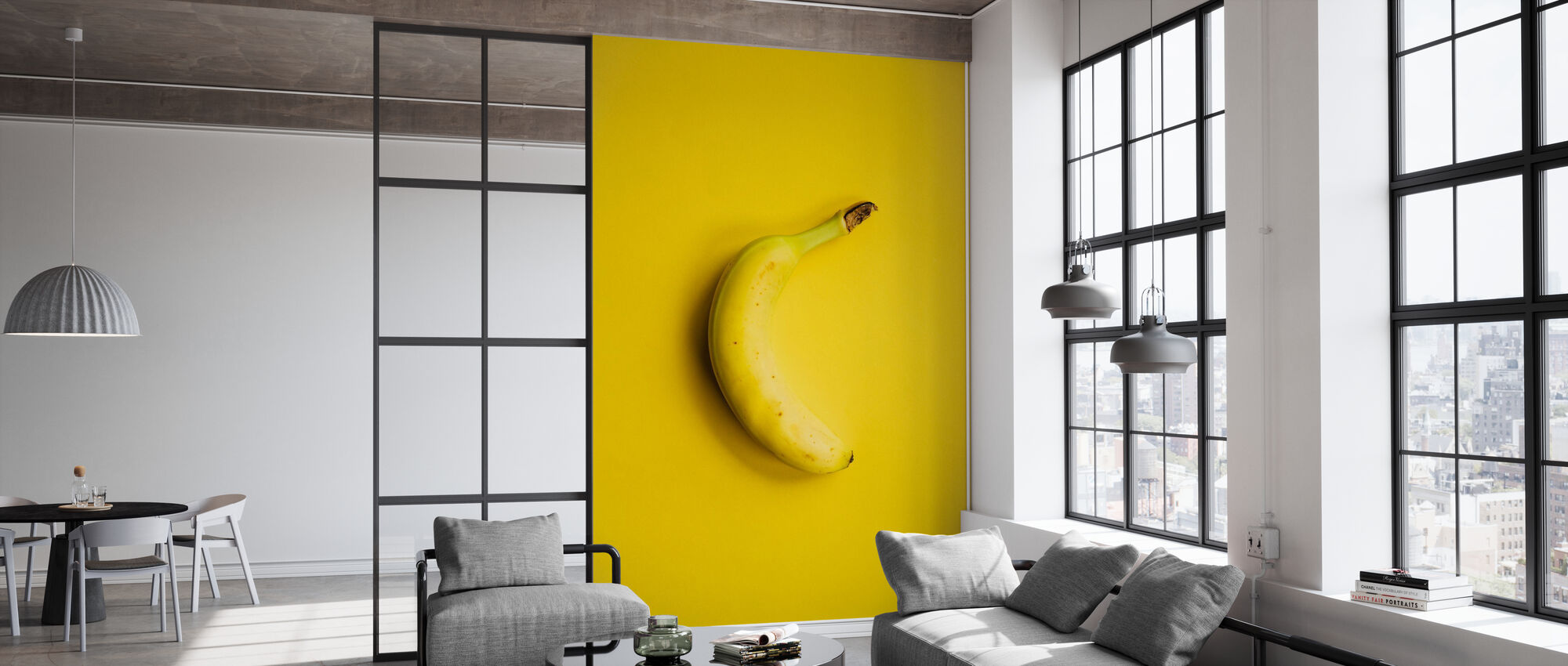 Yellow Banana - Wallpaper - Office