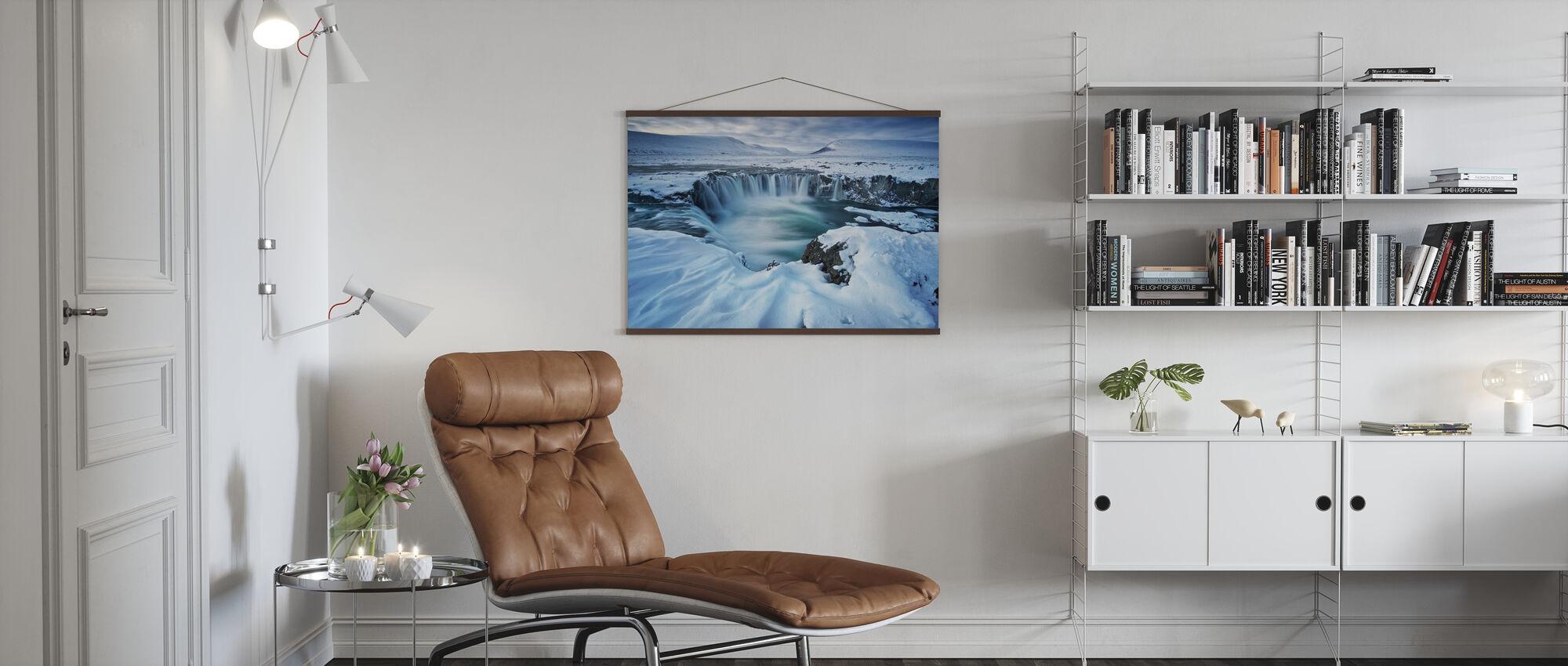 Gudernes vandfald - Plakat - Stue