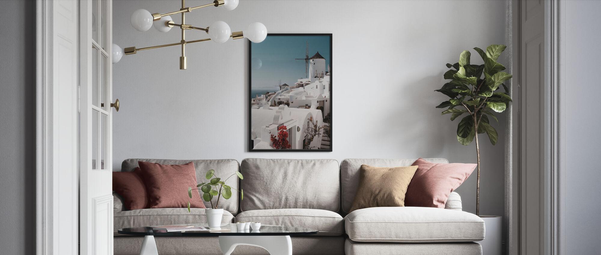 Vit på vitt - Poster - Vardagsrum