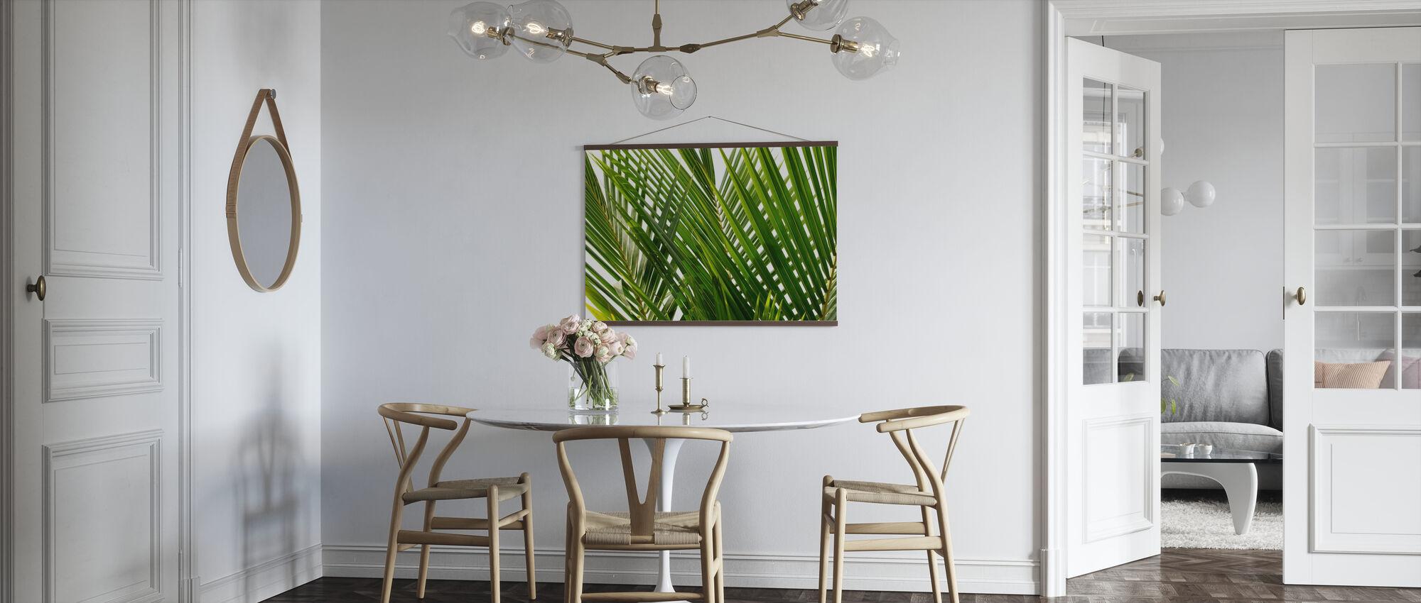 Palm Leaf - Poster - Kitchen