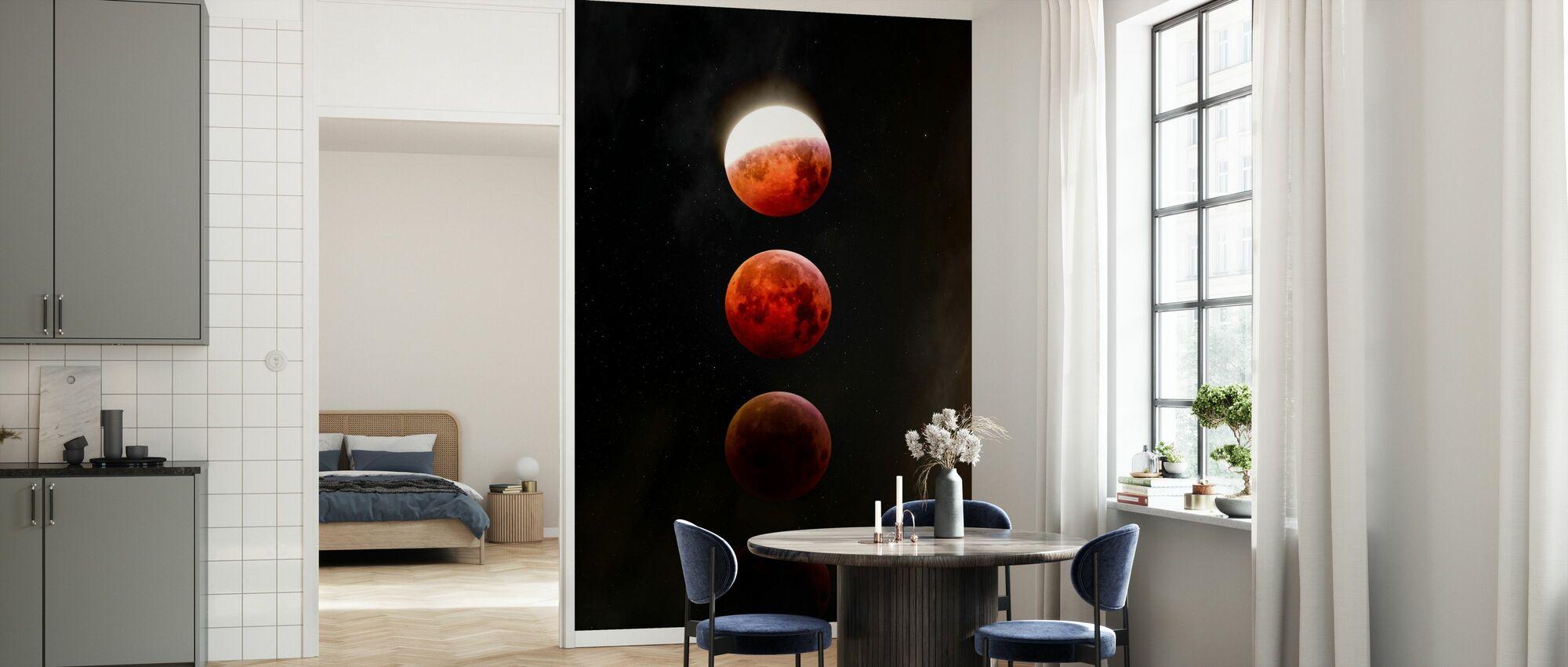 Lunar Eclipse - Wallpaper - Kitchen