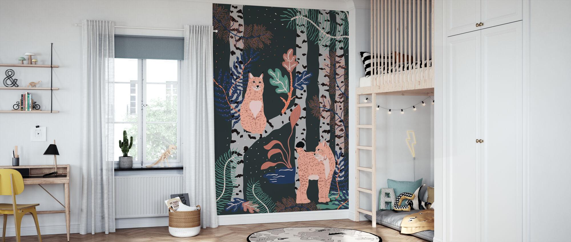 Nordic Jungle - Wallpaper - Kids Room
