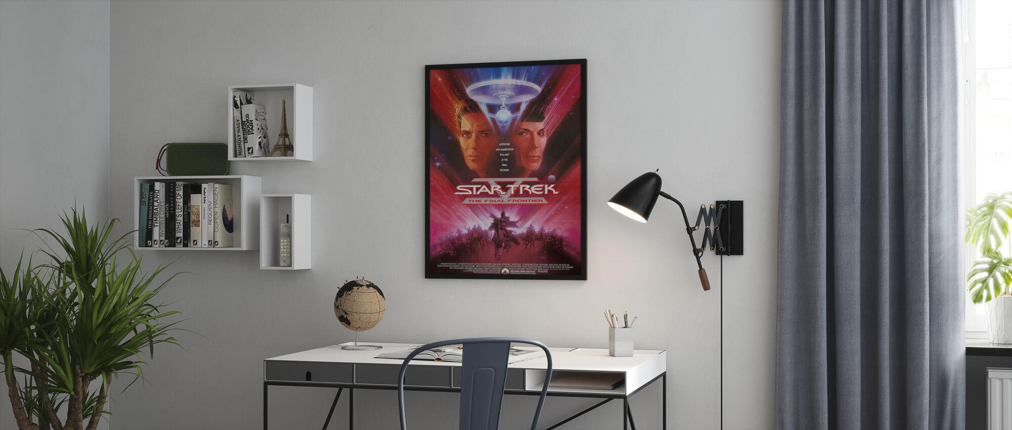 Star Trek V De laatste grens - Poster - Kantoor