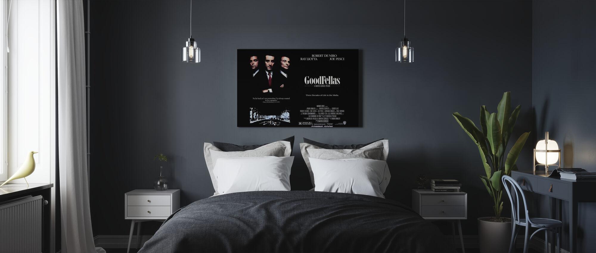 Goodfellas - Canvas print - Bedroom