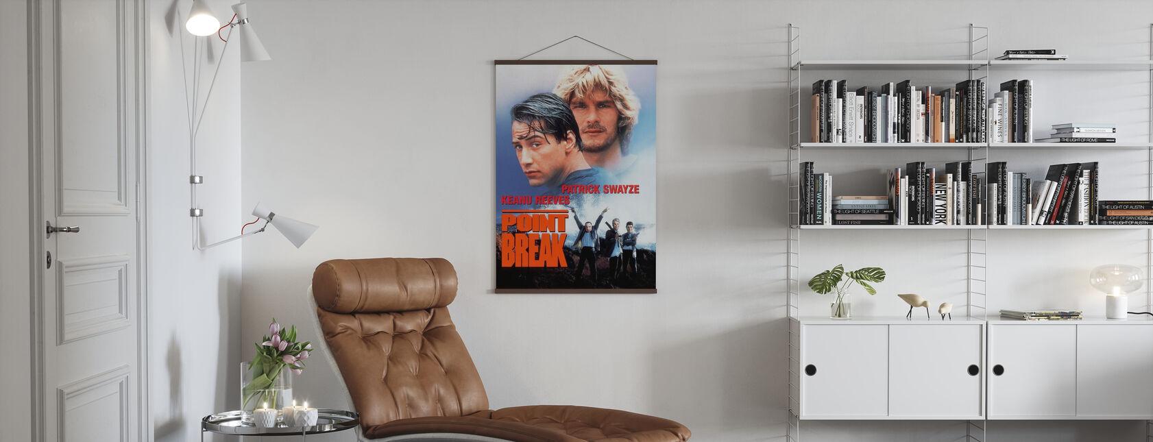 Point Break - Poster - Living Room