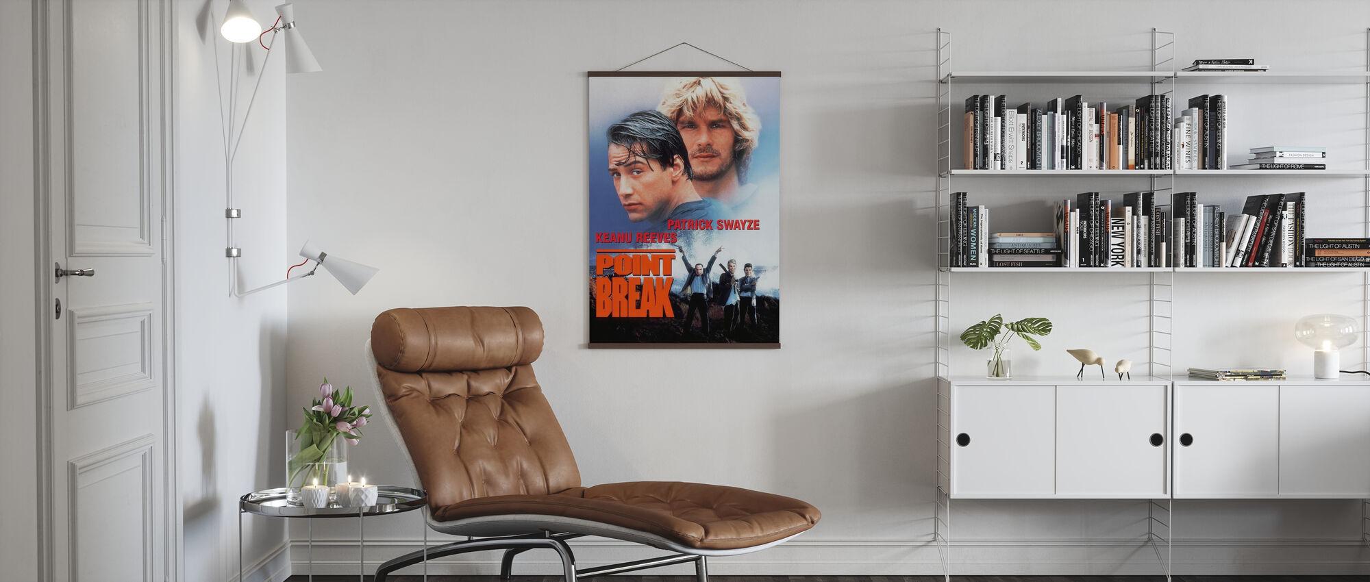 Punt Breek - Poster - Woonkamer